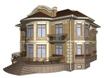 Family house Royalty Free Stock Image