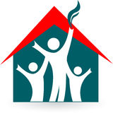 Family house Royalty Free Stock Images