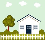 Family house building Royalty Free Stock Photography