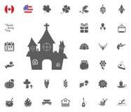 Thanksgiving Day Icon set. Design elements illlustration vector. Family house icon. Thanksgiving Day Icon set. Design elements illlustration vector Royalty Free Stock Photos
