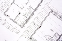 Free Family House Plans Royalty Free Stock Photo - 3096815