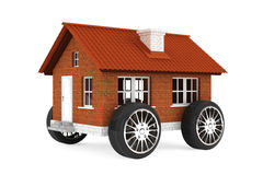 Family house on a wheels Royalty Free Stock Photo