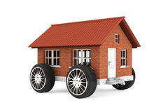 Family house on a wheels Royalty Free Stock Photos