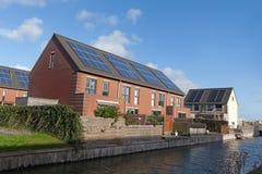 Free Family House With Solar Panels Stock Photos - 67975073