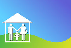 Family housing Stock Images