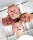 Family huddle Royalty Free Stock Photo