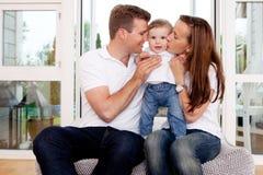 Family Hug royalty free stock photography