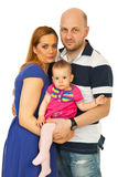 Family hugging together Royalty Free Stock Photo