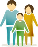 Family icon #2 Stock Photography