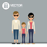 Family icon design Royalty Free Stock Photo