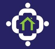 Family Icon Design With Home Stock Photos