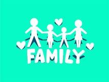 Family Icon Logo Stock Photos
