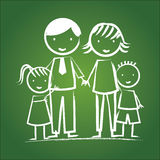 Family icon Royalty Free Stock Photos