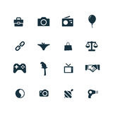Family icons set Royalty Free Stock Image