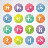 Family idol symbol Stock Image
