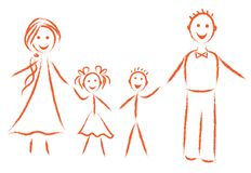 Family  image Royalty Free Stock Photography