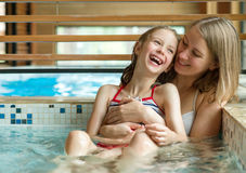 Free Family In SPA. Stock Image - 75954681