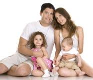 Family indoors Stock Photos