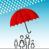 Family insurance Royalty Free Stock Photography