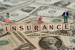 Family insurance. Getting the necessary insurance for you and your family Royalty Free Stock Photos