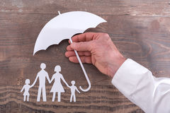 Family Insurance Concept Stock Images