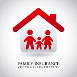 Family insurance Royalty Free Stock Photography