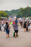 Family at Iowa State Fair Royalty Free Stock Photography