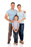 Family isolated Royalty Free Stock Image
