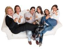 Family joke Stock Image