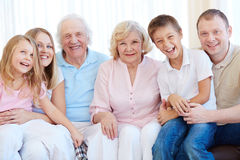 Family joy Stock Photography