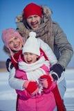 Family joy Royalty Free Stock Photos