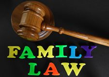 Family law Royalty Free Stock Images
