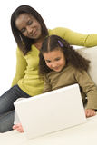 Family Learning Royalty Free Stock Photo