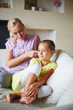 Family leisure Stock Images