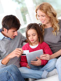 Family leisure time Stock Image