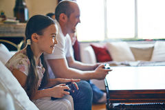 Family leisure time Royalty Free Stock Images