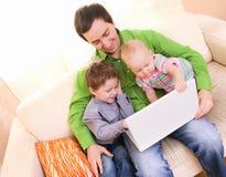 Family Lifestyle Royalty Free Stock Photos