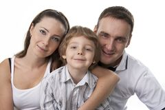 Family lifestyle portrait Stock Photography