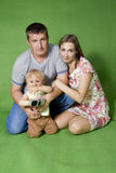 Family lifestyle portrait Stock Image
