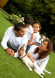 Family lifestyle portrait Royalty Free Stock Images