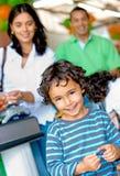 Family lifestyle portrait Royalty Free Stock Image
