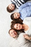 Family line Stock Images