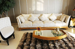 The family living room Royalty Free Stock Photography