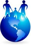 Family logo Royalty Free Stock Photography