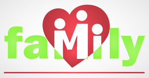 Family Logotype Stock Photo
