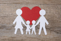 Family in love Royalty Free Stock Photography