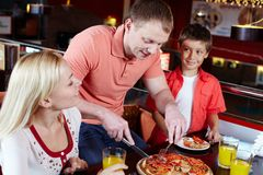 Family lunch Royalty Free Stock Photos