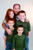 Family Man Stock Photo