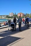 Family at Manly Stock Photography