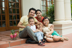 Family mansion Stock Image